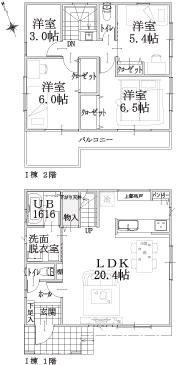 I棟建物平面図