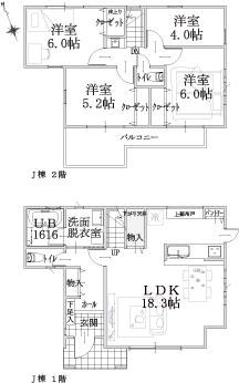 J棟建物平面図