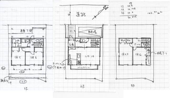 建物参考平面図