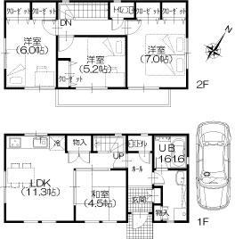 参考建物平面図