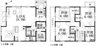 15号棟建物平面図
