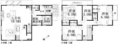 6号棟建物平面図