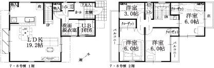 7・8号棟建物平面図