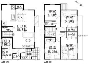 9棟 A棟建物平面図